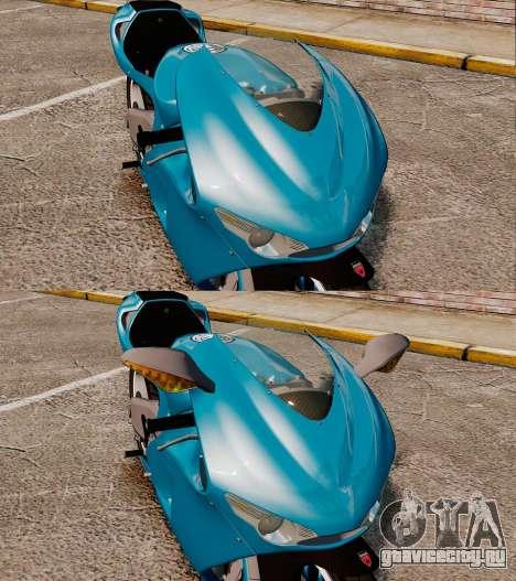 Ducati Desmosedici RR 2012 для GTA 4 вид сзади