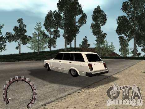 ВАЗ 2104 для GTA San Andreas вид справа