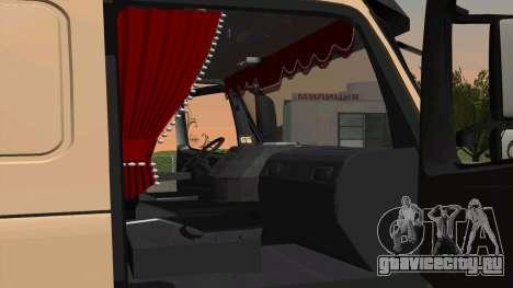 Volvo FM16 для GTA San Andreas вид сзади слева