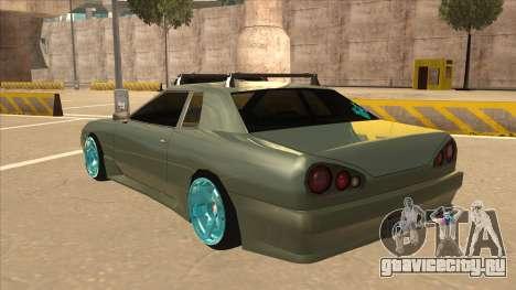 Elegy Hellaflush для GTA San Andreas вид сзади