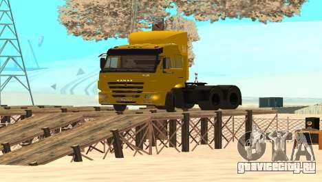 КамАЗ 65116 для GTA San Andreas вид справа