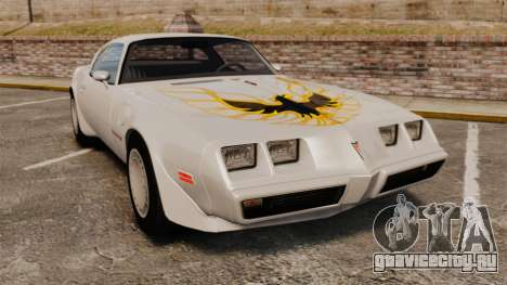 Pontiac Turbo TransAm 1980 для GTA 4