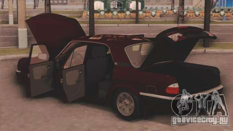 ГАЗ 31105 для GTA San Andreas вид справа