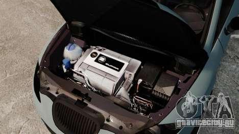 Seat Leon Gtaciyiz для GTA 4 вид изнутри