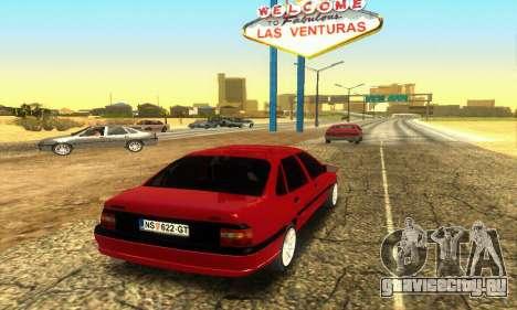 Opel Vectra A для GTA San Andreas вид справа