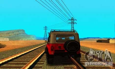 УАЗ 31514 6x6 для GTA San Andreas вид справа