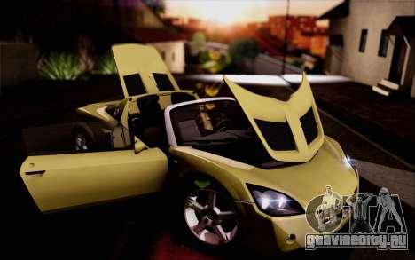 Opel Speedster Turbo 2004 для GTA San Andreas