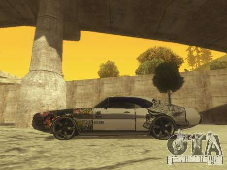 Clover Modified для GTA San Andreas вид слева