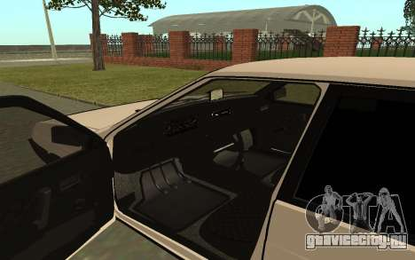 ВАЗ 21093 для GTA San Andreas вид сзади