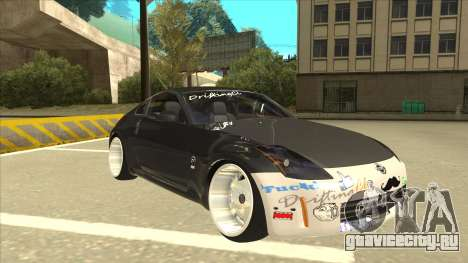 Nissan 350z SimpleDrift для GTA San Andreas вид слева