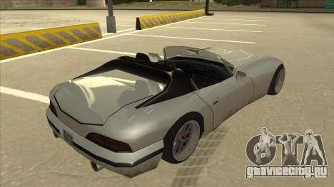Banshee Stance для GTA San Andreas вид справа