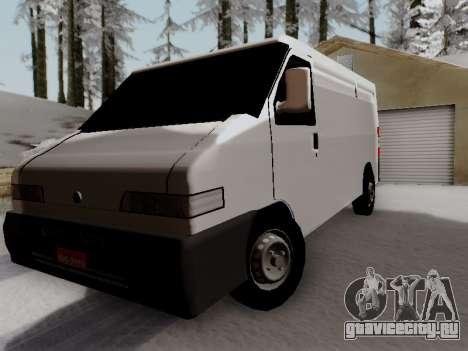 Fiat Ducato Cargo для GTA San Andreas
