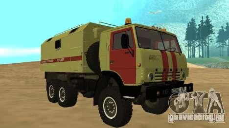 КамаЗ 4310 Аварийка для GTA San Andreas