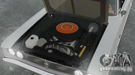 Dodge Coronet 440 1967 для GTA 4 вид изнутри