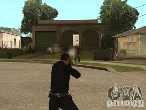 АКМС со штык-ножом для GTA San Andreas третий скриншот