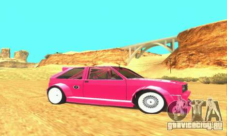 Hillclimb Club для GTA San Andreas вид сзади