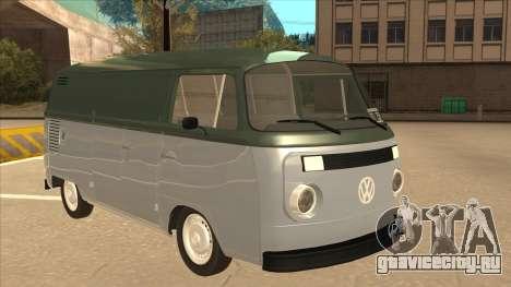 VW T2 Van для GTA San Andreas вид слева
