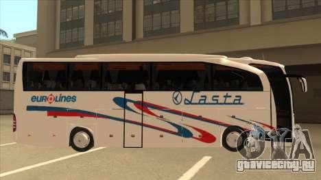 Mercedes-Benz Lasta Bus для GTA San Andreas вид сзади слева
