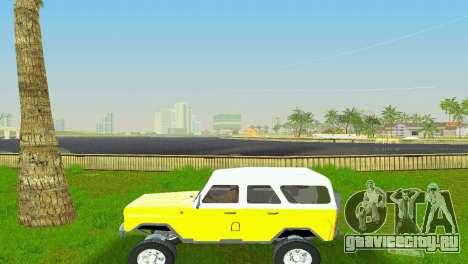 УАЗ 3151 для GTA Vice City вид сзади