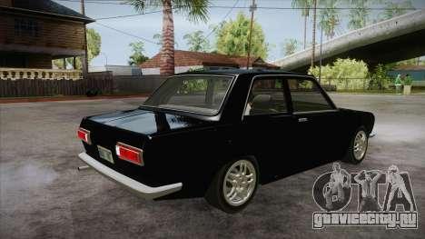 Datsun 510 RB26DETT Black Revel для GTA San Andreas вид справа