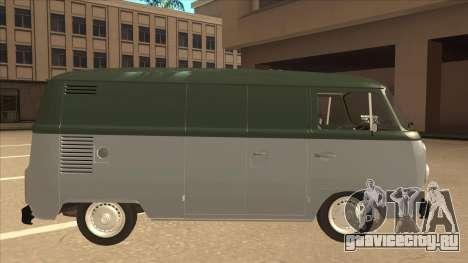 VW T2 Van для GTA San Andreas вид сзади слева