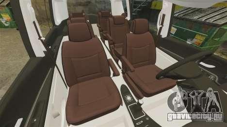 Renault Espace IV Initiale для GTA 4 вид сбоку