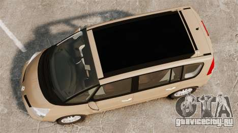 Renault Espace IV Initiale для GTA 4 вид справа