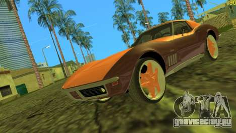 Chevrolet Corvette C3 Tuning для GTA Vice City