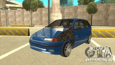 Fiat Punto MK1 Tuning для GTA San Andreas