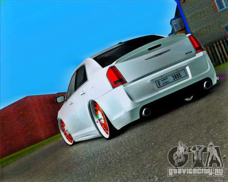 Chrysler 300C SRT-8 MANSORY_CLUB для GTA San Andreas вид сзади слева