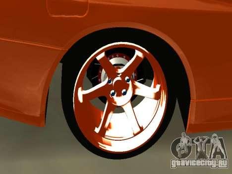 Nissan Skyline R-34 для GTA San Andreas вид справа