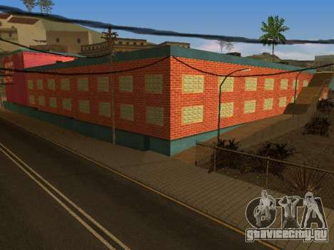 Новые текстуры отеля Jefferson для GTA San Andreas седьмой скриншот