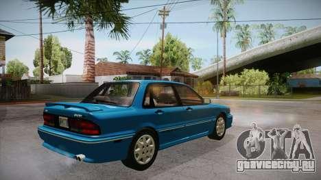 Mitsubishi Galant VR-4 (E39A) 1987 IVF АПП для GTA San Andreas вид справа