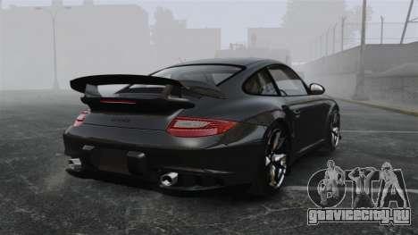 Porsche 997 GT2 2012 Simple version для GTA 4 вид сзади слева