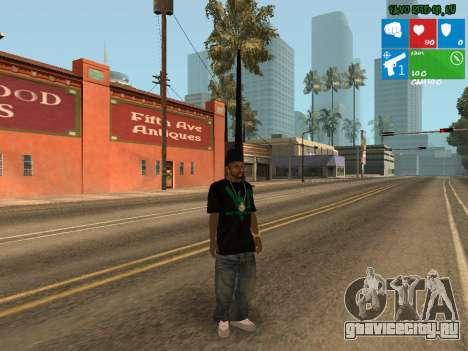 Новый нарко дилер Afro для GTA San Andreas