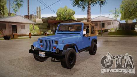 Jeep Wrangler V10 TT Black Revel для GTA San Andreas