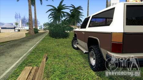 Rancher Bronco для GTA San Andreas вид справа