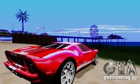Realistic ENBSeries для GTA San Andreas восьмой скриншот
