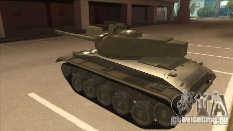 M41A3 Walker Bulldog для GTA San Andreas вид сзади
