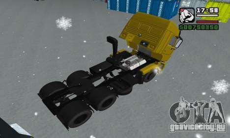 КамАЗ 65116 для GTA San Andreas колёса