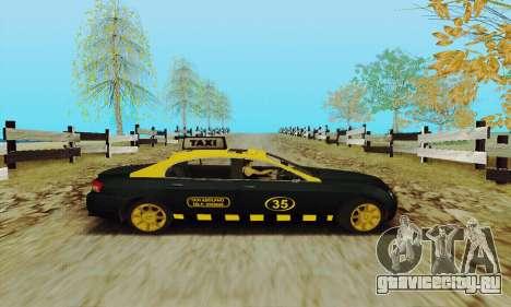 Mercenaries 2 Такси для GTA San Andreas вид сзади