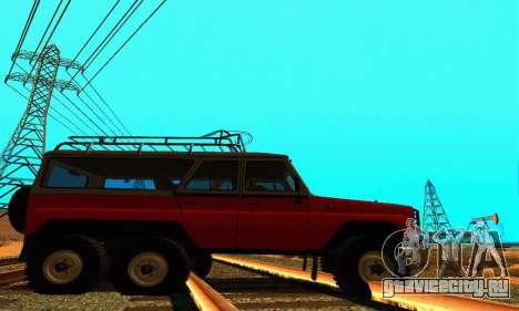 УАЗ 31514 6x6 для GTA San Andreas вид слева