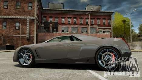 Cadillac Cien XV12 [EPM] для GTA 4 вид слева