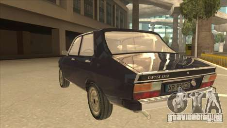 Dacia 1310 для GTA San Andreas вид сзади