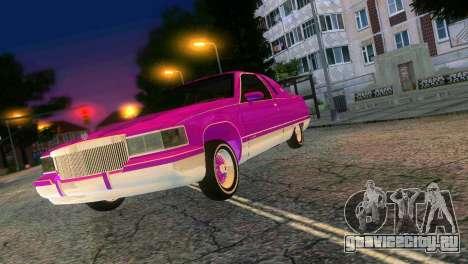 Cadillac Fleetwood Coupe для GTA Vice City вид сзади