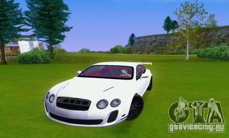 Bentley Continental Extremesports для GTA San Andreas