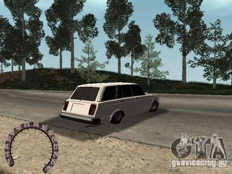ВАЗ 2104 для GTA San Andreas вид сзади слева