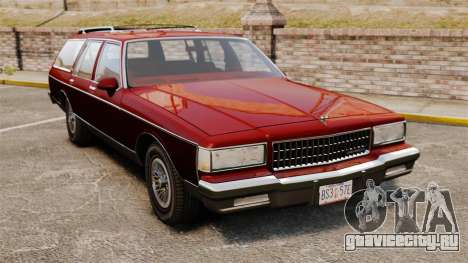 Chevrolet Caprice Wagon 1989 для GTA 4
