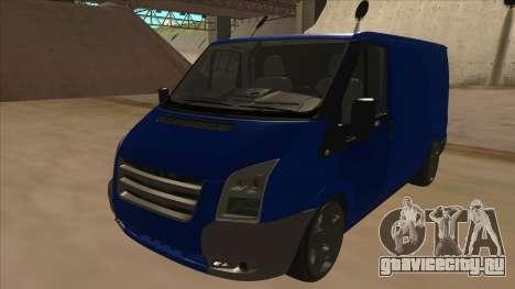 Ford Transit Swb 2011 Stance для GTA San Andreas