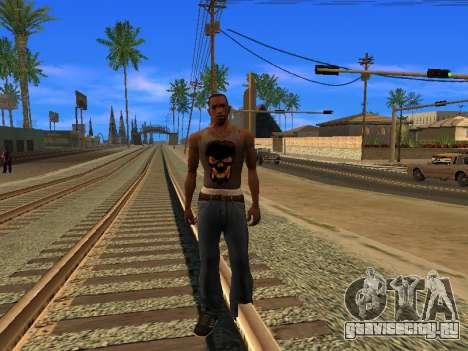 Новая майка CJ для GTA San Andreas